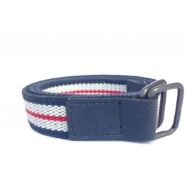 Blue, White & Red Belt