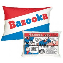 Bazooka Comics Bubble Gum Scented Microbead Pillow