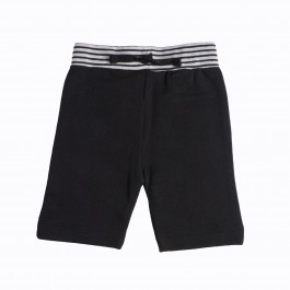 Fashion Knit Shorts-BLACK