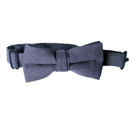 Blue Linen Boys Bow Ties