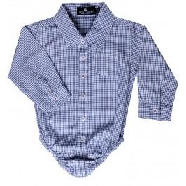 Blue Checker Onesie