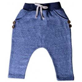 Blue Hip Harem Pants