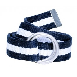 Blue and White Boys Belt