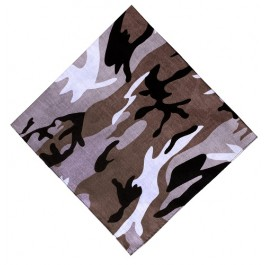 Brown Camo Boys Bandana