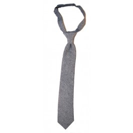 Denim Grey Boys Neckties