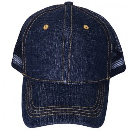 Denim Blue Snapback Boys Hat