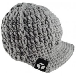Gray Rim Hat