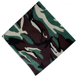 Green Camo Boys Bandana