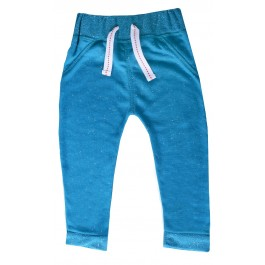 Infant Light Blue Speckled Pants