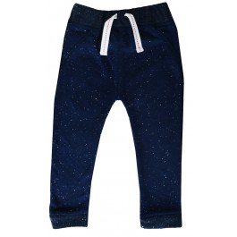 Infant Speckled Navy Blue Pants