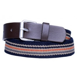 Multi-Color Brown Boys Belt