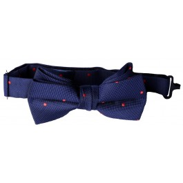 Red Dot Boys Bow Tie
