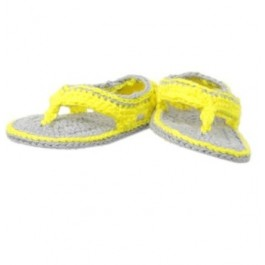 Woven Yellow Sandals