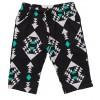 Geometric Pants Green