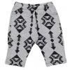 Geometric Pants Grey