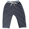 Infant Black and White Stripe Pants