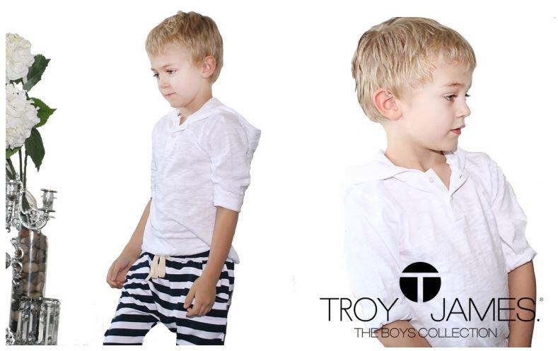 Troy James Boys Lookbook Summer 2015