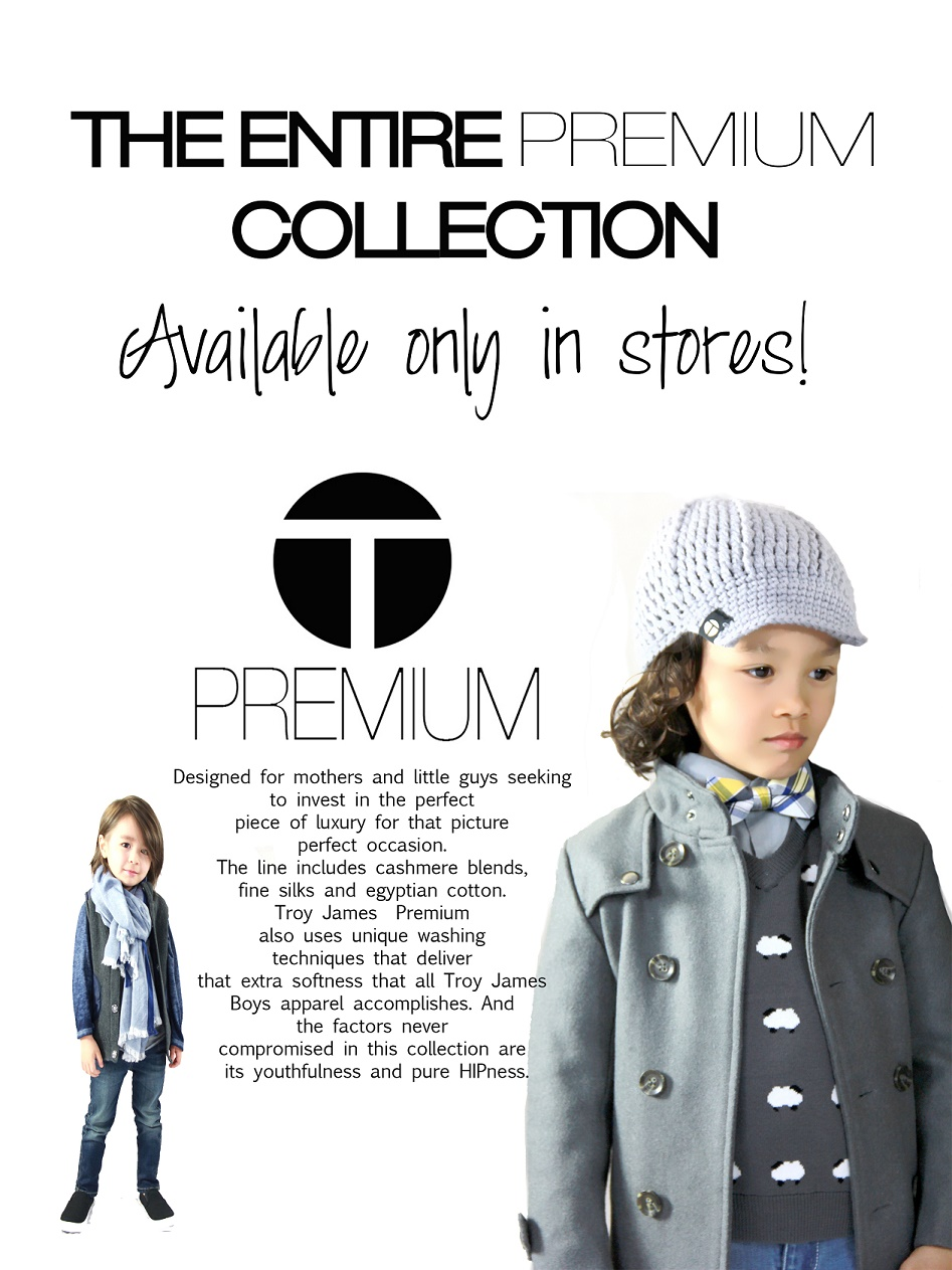 Troy James Boys Premium Collection