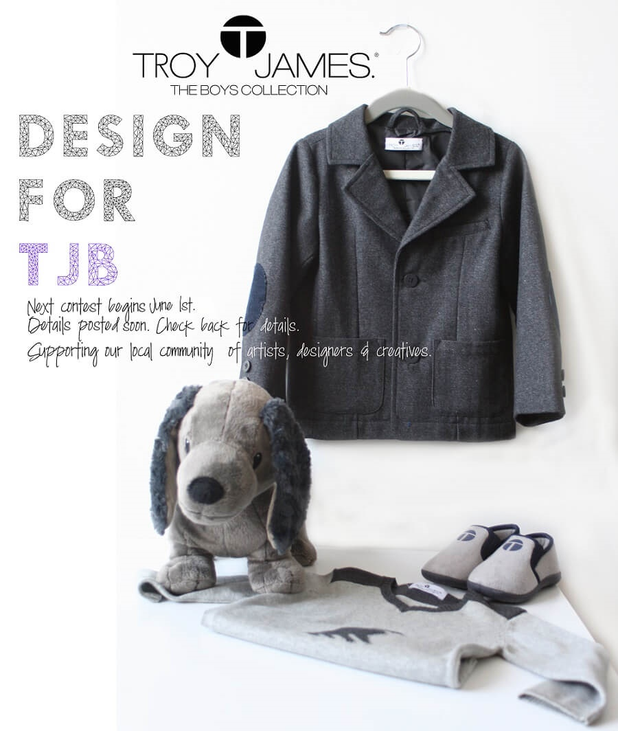 troy james boys design contest