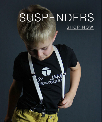 troy james boys Suspenders